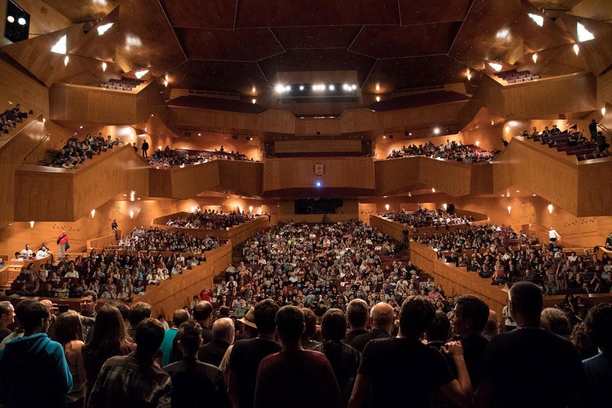 El Euskalduna al final de Naukas Bilbao 2018