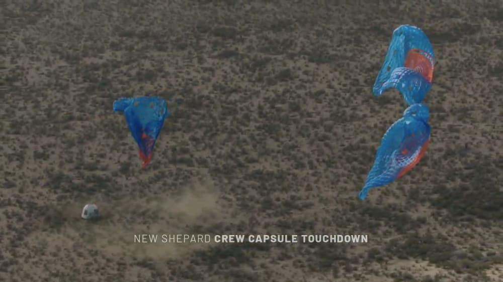 Aterrizaje del cohete