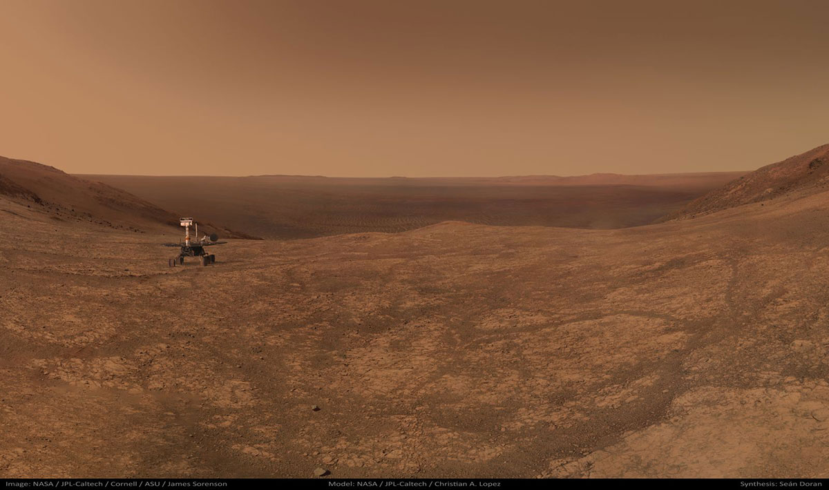 Opportunity en Marte