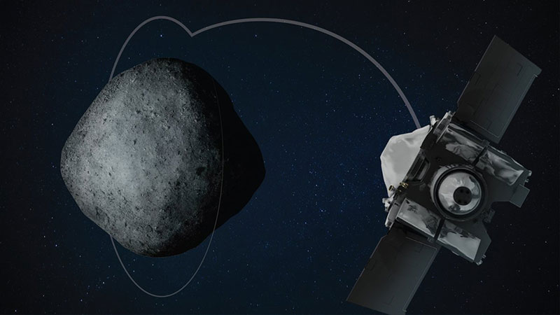 Osiris-REX entrando en órbita