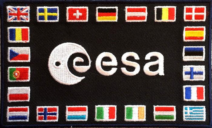 Parche de los astronautas de la ESA