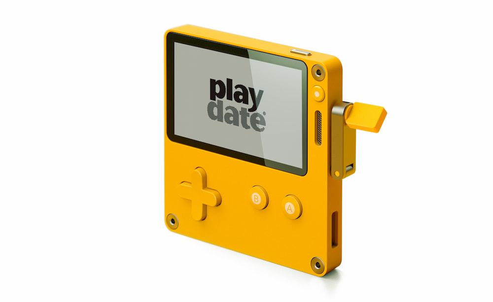 Playdate: la videoconsola que funciona a manubrio