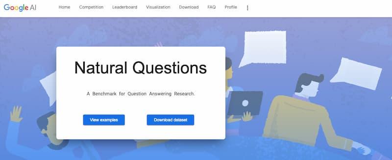 Preguntas naturales: un conjunto de datos con 300.000 entradas para entrenar inteligencias artificiales