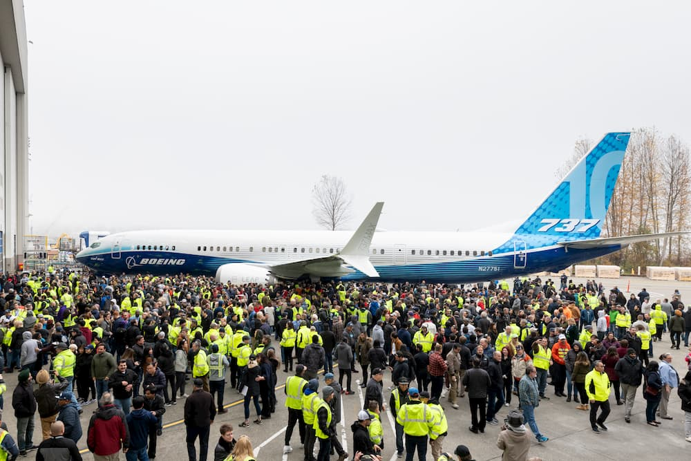 El primer 737 MAX 10