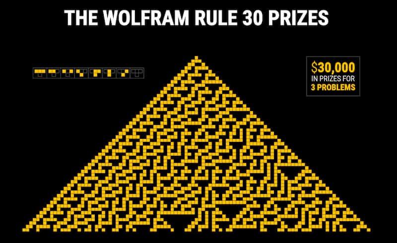Regla 30» de Wolfram