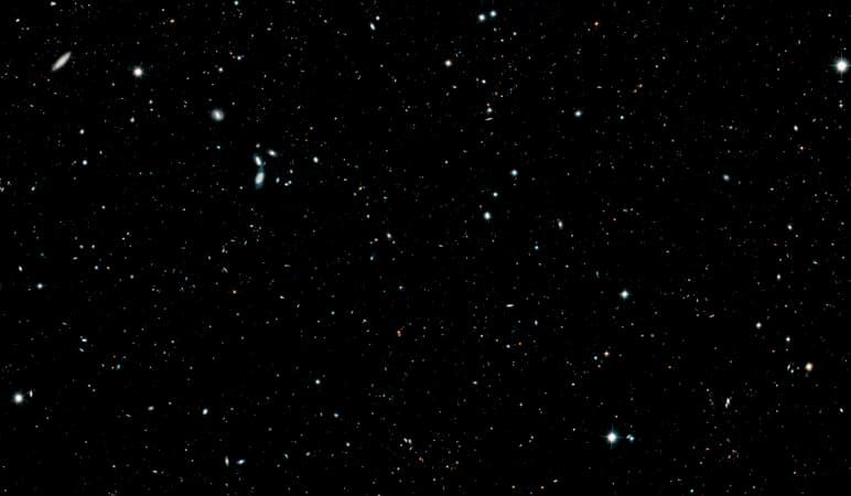 Hubble Legacy Field Crop