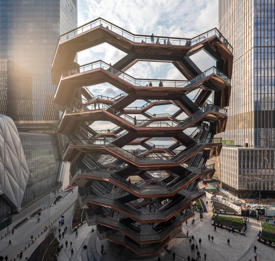 The Vessel / hudsonyardsnewyork.com
