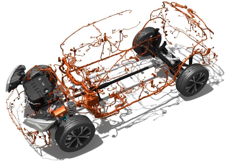 La complejidad del cableado de un coche: Seat Ateca SUV