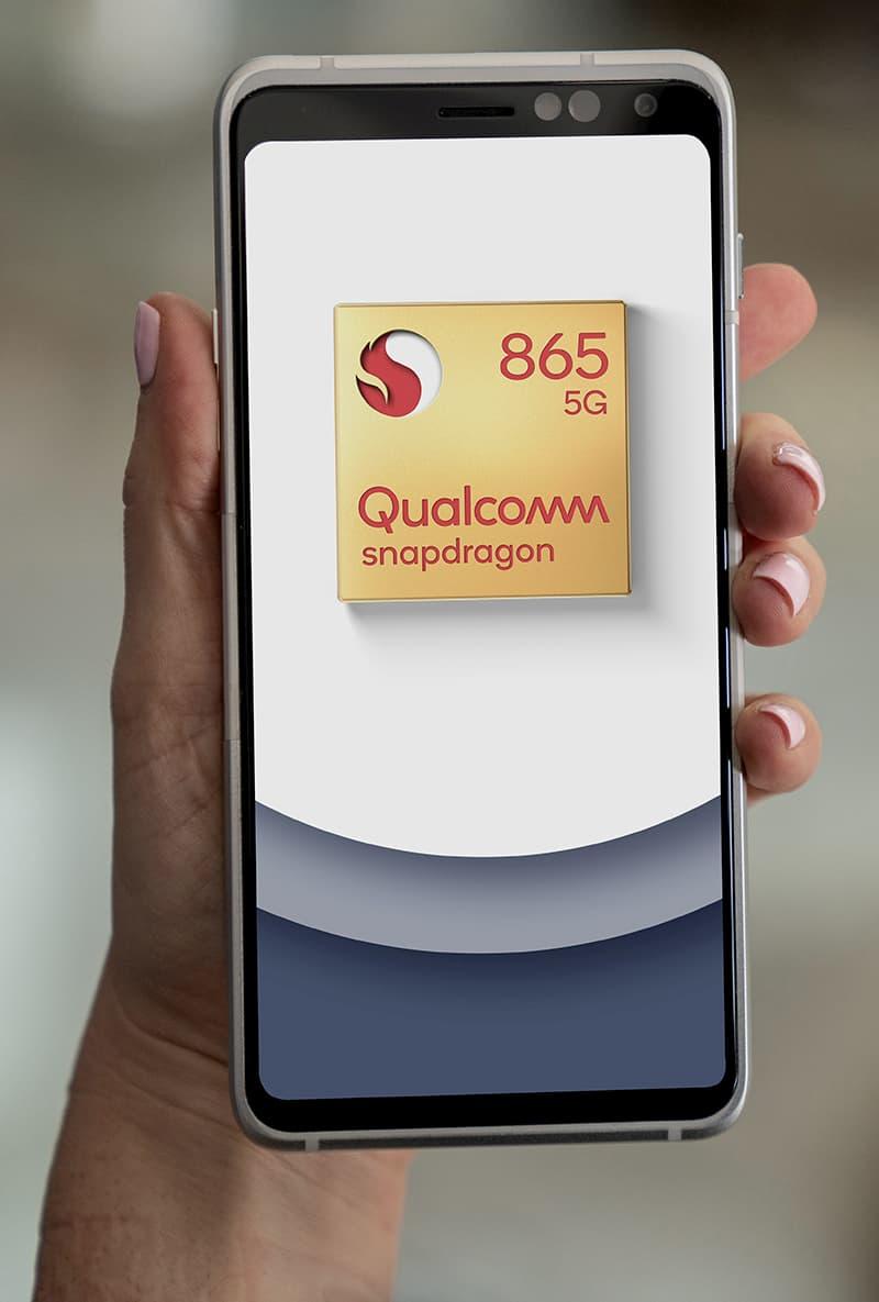 Así podría ser un móvil basado en Snapdragon 865