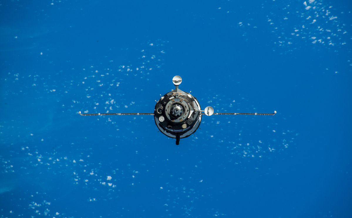 La Soyuz MS-11 llegando a la EEI