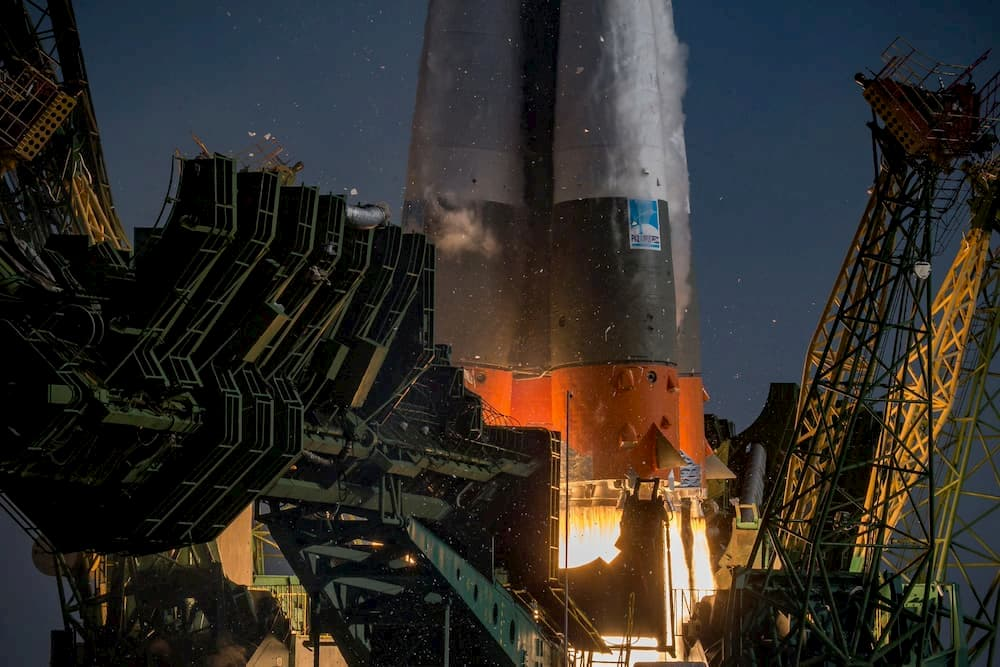 Lanzamiento de la Soyuz MS-14