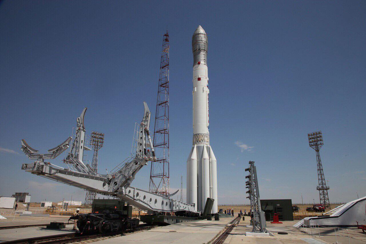 En la plataforma - Roscosmos