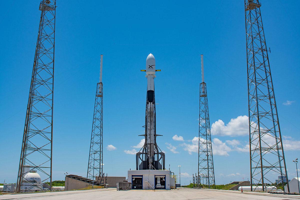 El cohete en la paltaforma