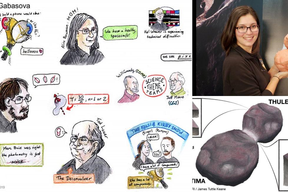 Trabajos de Leila Qışın, Mallory Kinczyk y James Tuttle Keane