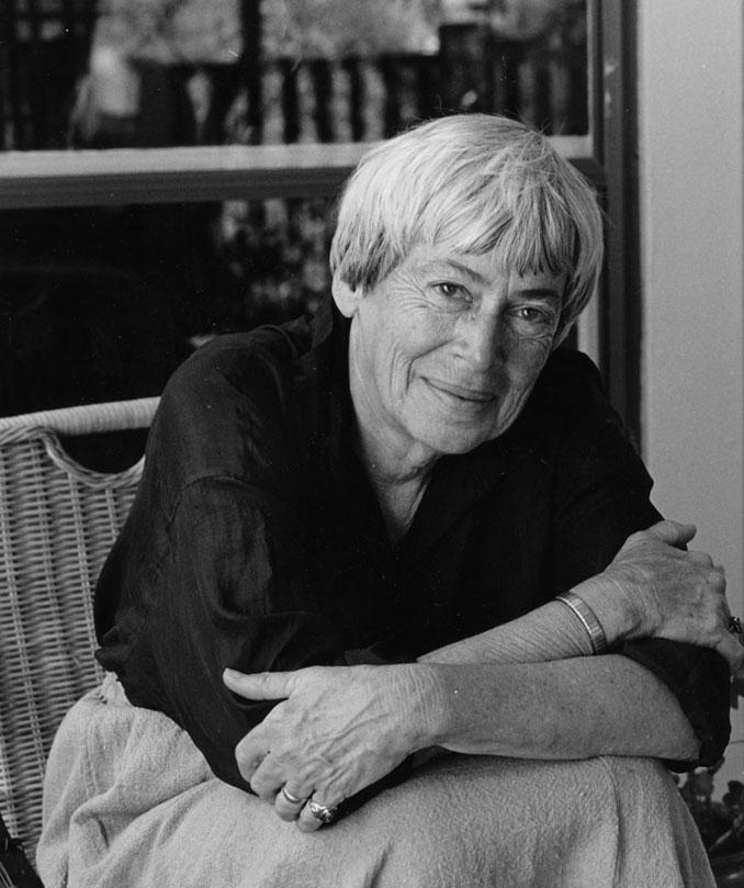 Ursula K. Le Guin por Marian Wood Kolisch
