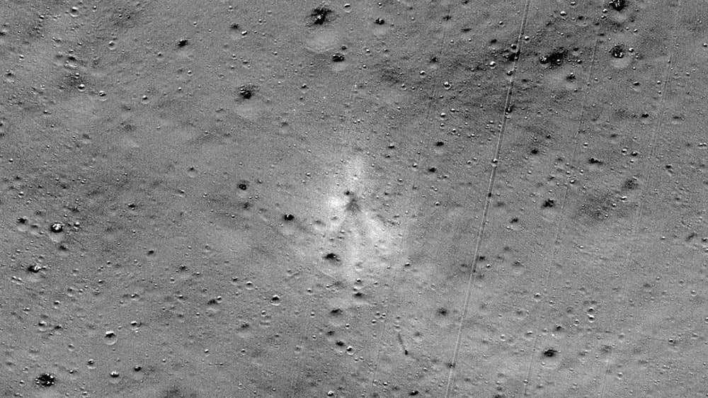 Cráter de impacto de Vikram