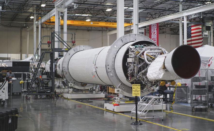 Primer LauncherOne que irá al espacio