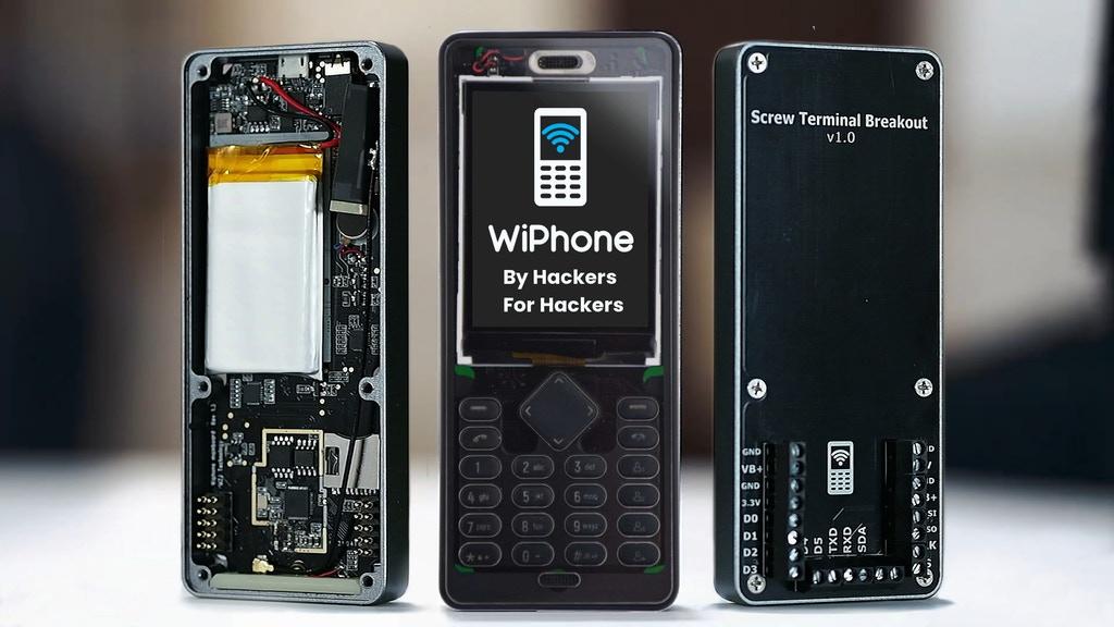 WiPhone, el teléfono para hackers y makers