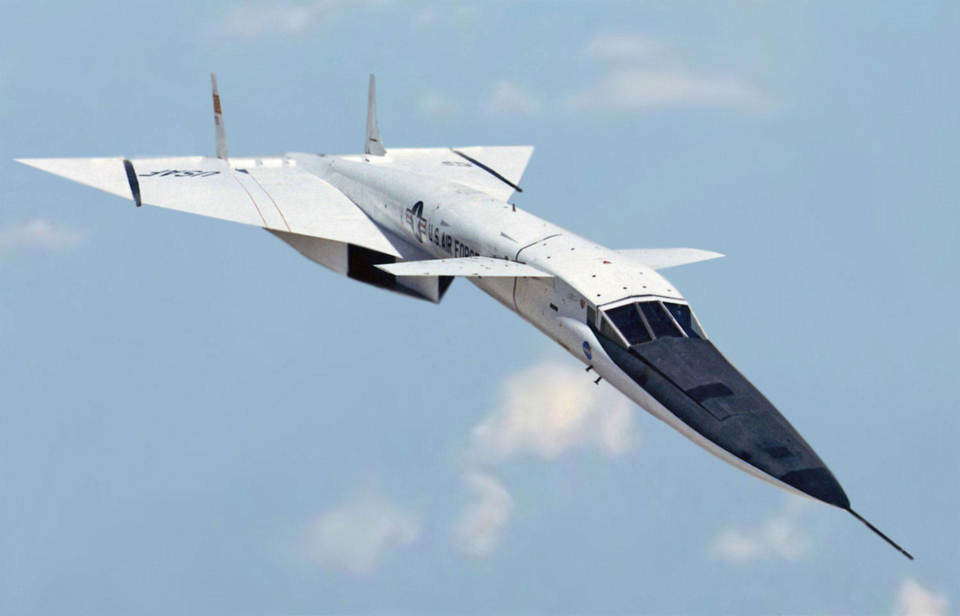 Uno de los prototipos del Valkyrie en vuelo