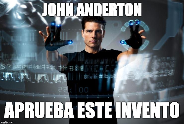 John Anderton - Pre-Crime