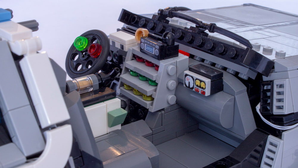 Delorean Lego