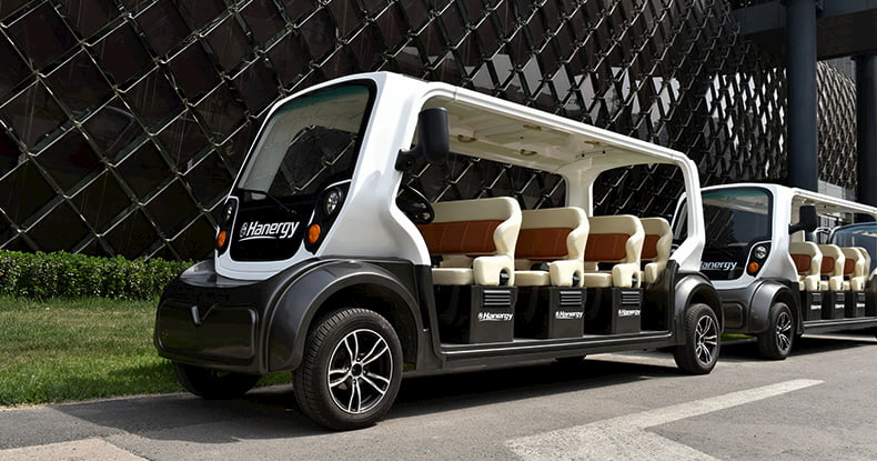 Hanergy Solar Car