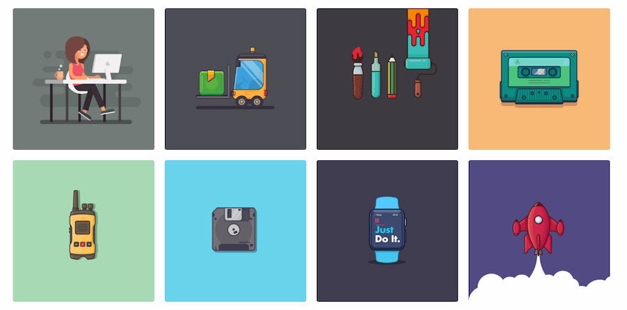 100 ilustraciones / Vijay Verma