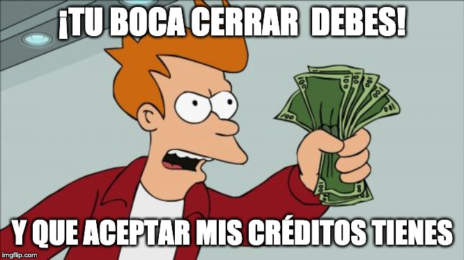 Aceptar créditos Fry