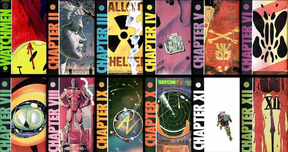 Watchmen / portadas originales