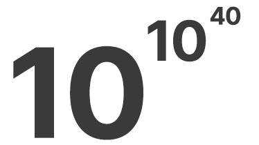 10^10^40
