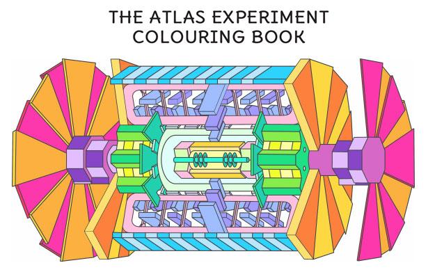 ATLAS Colouring Book