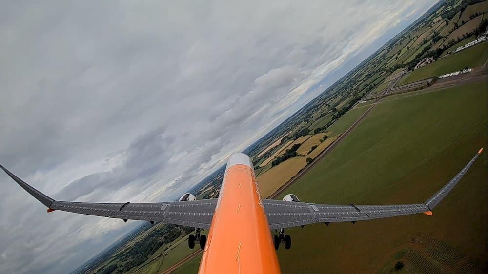 El AlbatrossONE en vuelo - Airbus