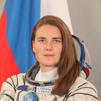 Anna Kikina - Roscosmos