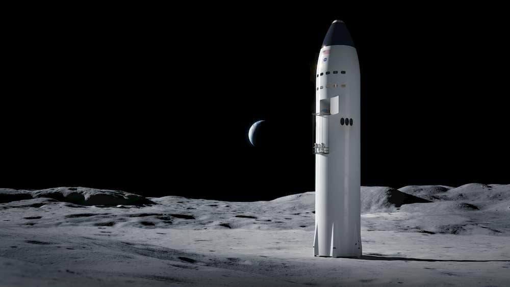 Starship en la Luna – SpaceX
