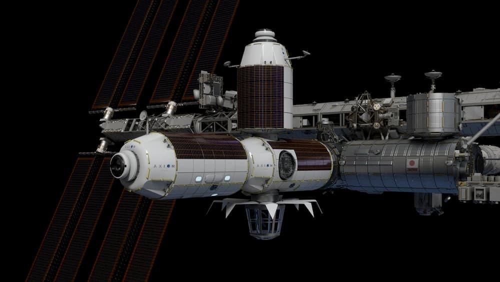 Los módulos de Axiom Space acoplados a la EEI – Axiom Space