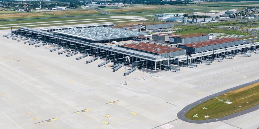 Vista aérea del nuevo aeropuerto