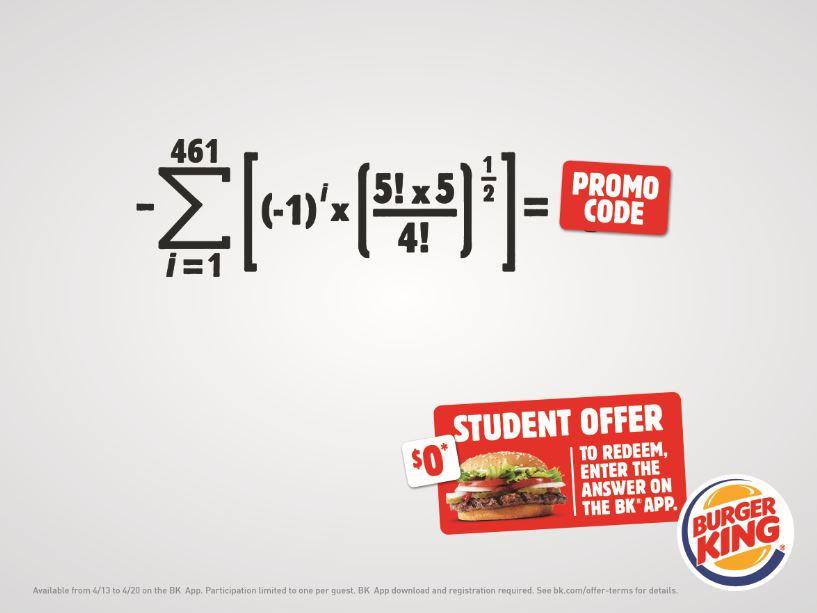 Burger King publicidad inteligente