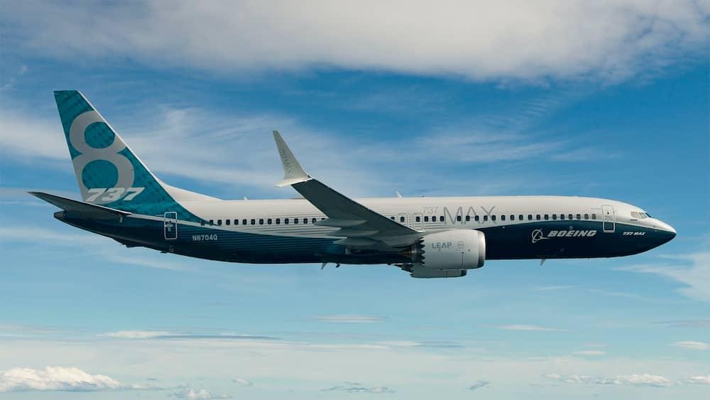 Un 737 MAX-8 en vuelo – Boeing