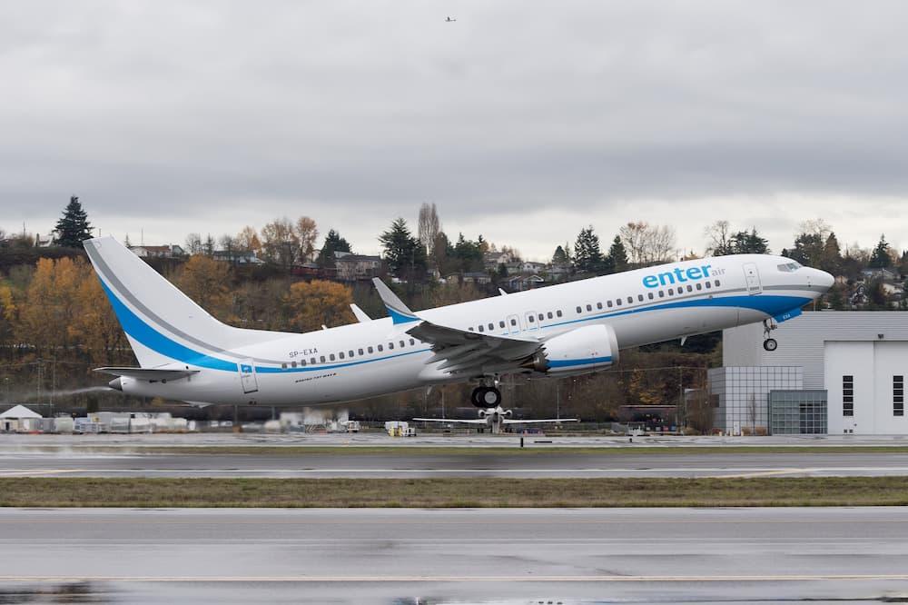 Uno de los 737 MAX de Enter Air – Boeing