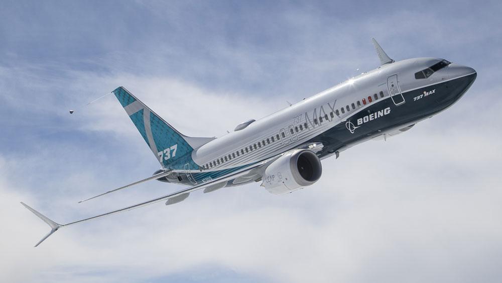 Primer prototipo del 737 MAX en vuelo - Boeing