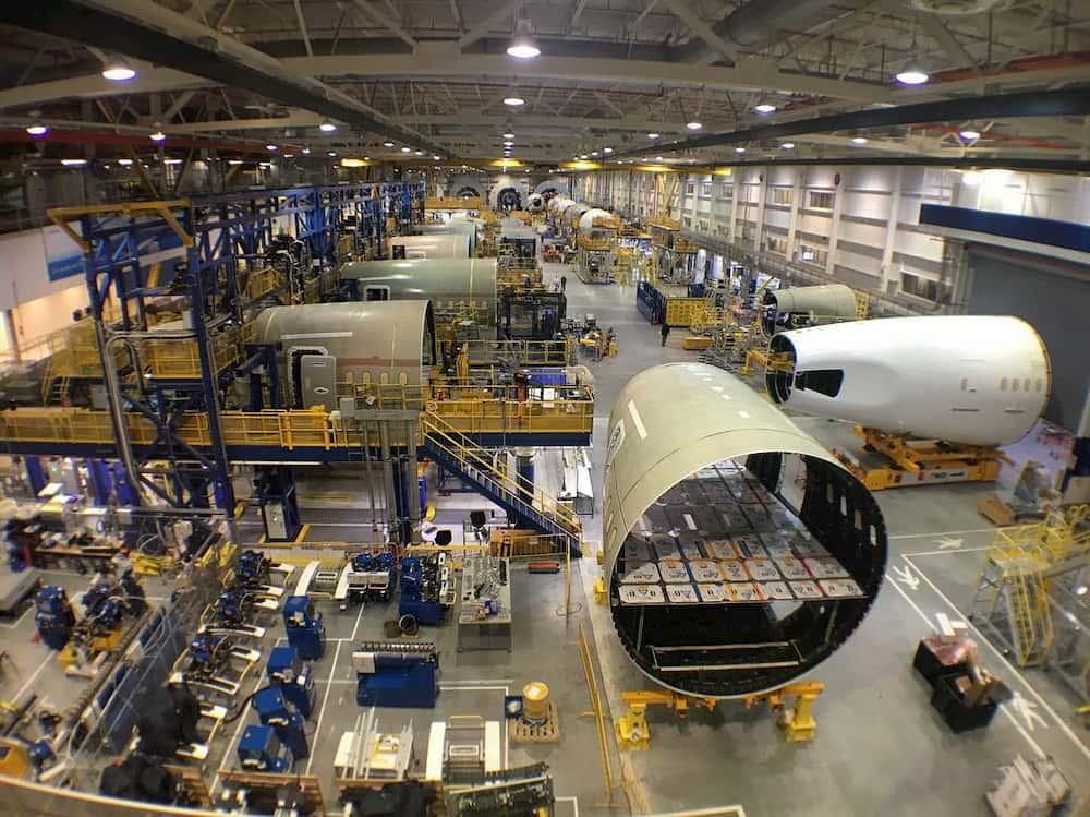 Secciones 47 y 48 del Boeing 787 - Paul Thompson
