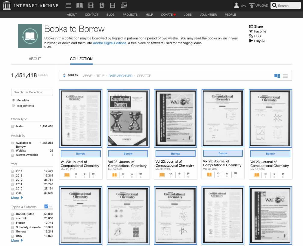 Biblioteca del Internet Archive