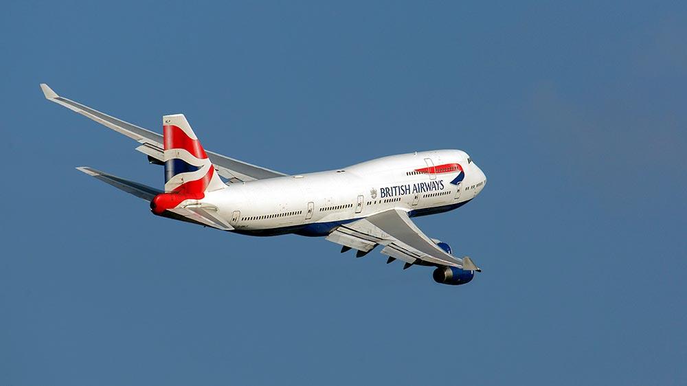 El G-BNLP saliendo de Heathrow en el verano de 2018 – Wicho