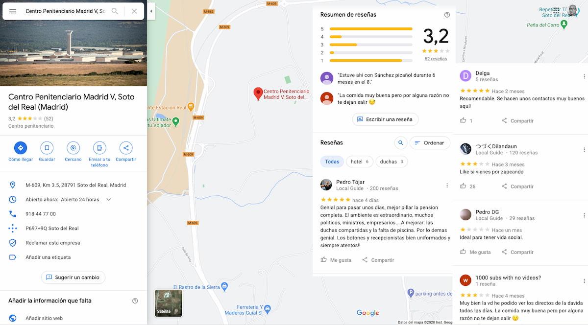 Google Maps: Reseñas - Soto del Real