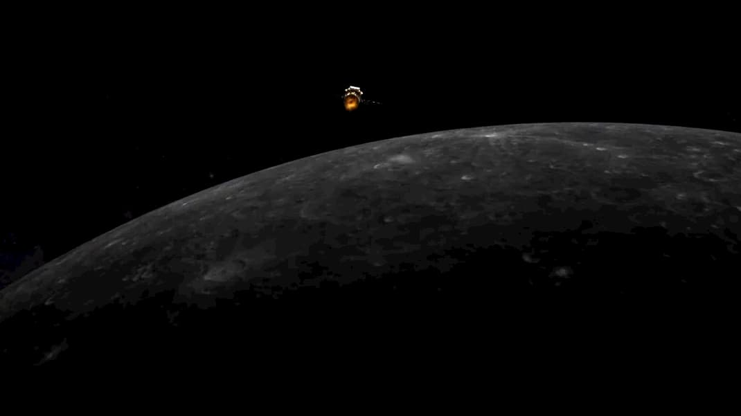 Impresión artística de Chang'e 5 en órbita lunar – China Lunar Exploration Project