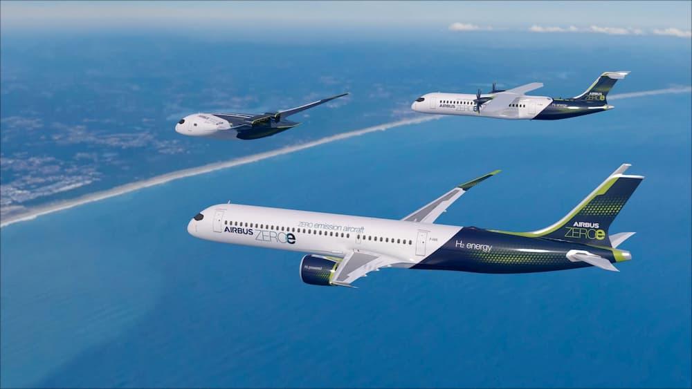 Los conceptos ZEROe – Airbus