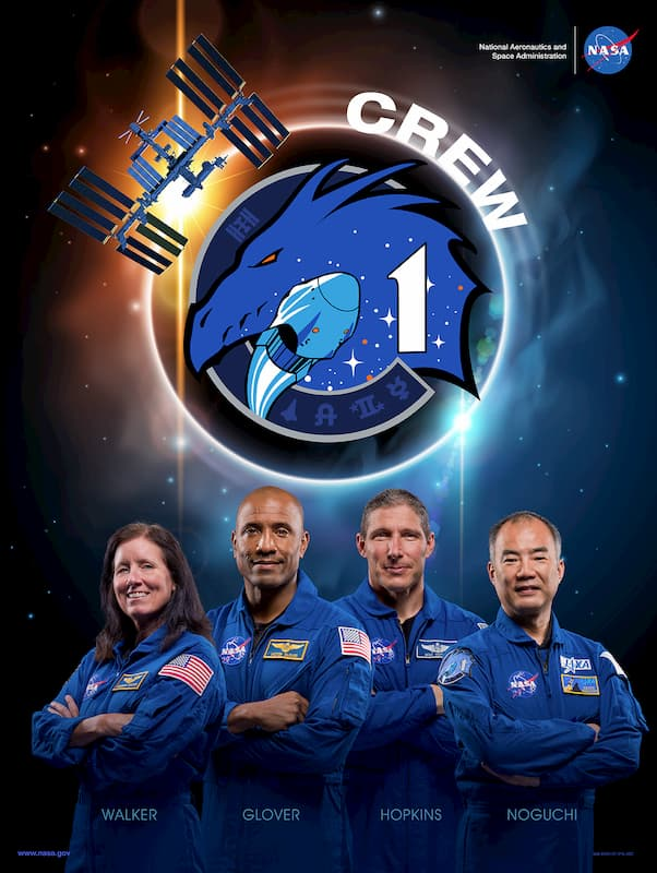 Póster de la misión – NASA