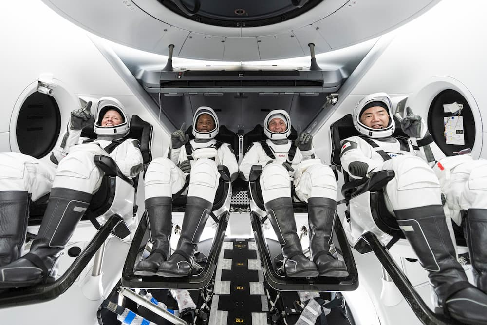 Tripulación de la Crew-1 - SpaceX