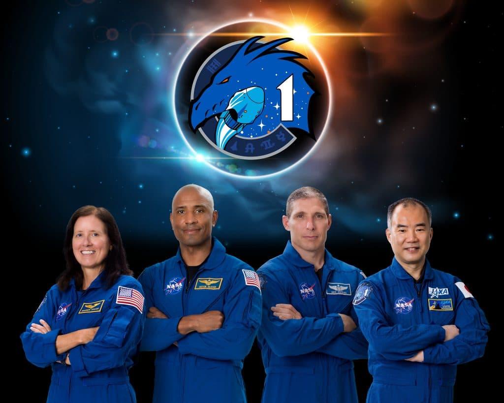 La tripulación de la Crew-1 – NASA