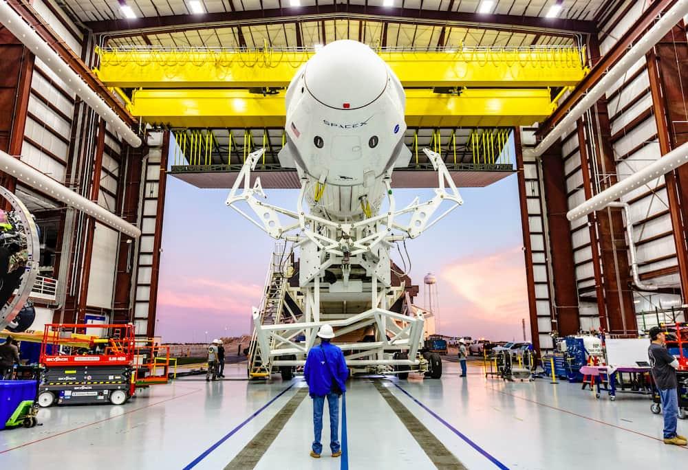 Rumbo a la plataforma de lanzamiento – SpaceX